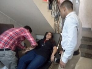 Blood Donation Campaigns at Blessing Foundation