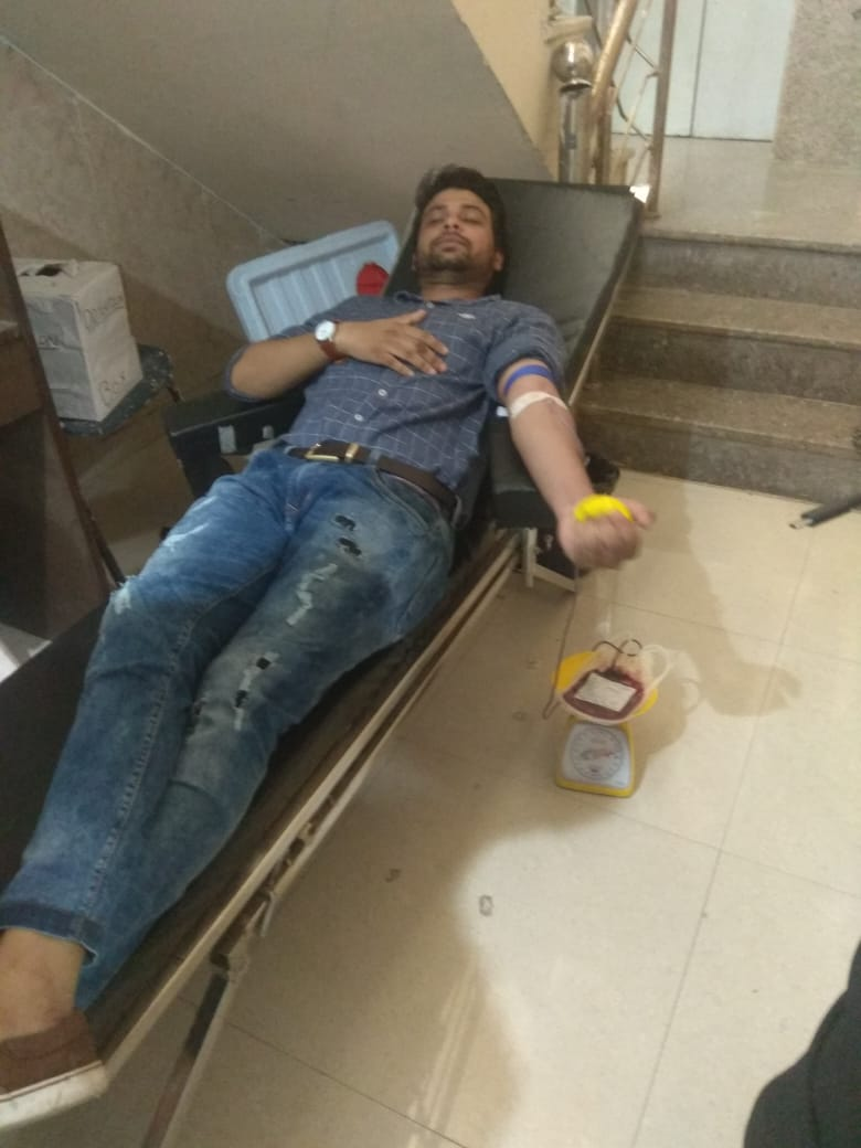 Blood Donation Campaigns at Blessing Foundation 1 best ngo in agra