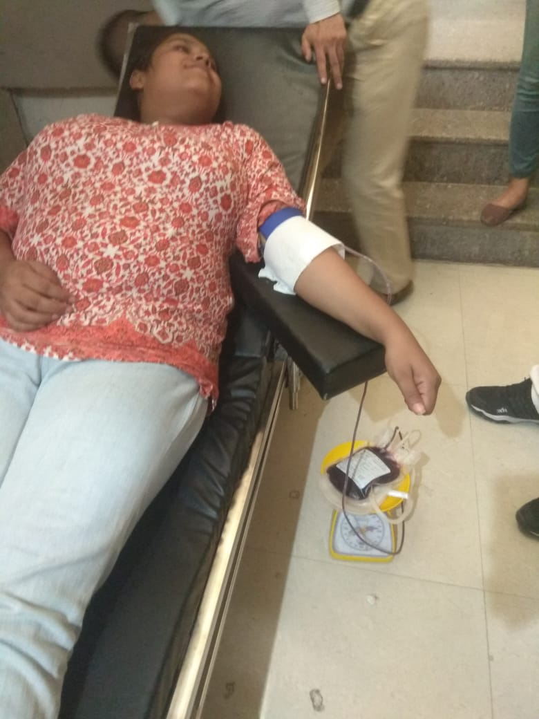 Blood Donation Campaigns at Blessing Foundation 2 best ngo in agra