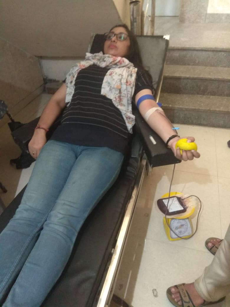 Blood Donation Campaigns at Blessing Foundation best ngo in agra