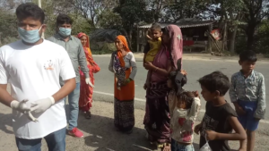 food and mask distribution 6