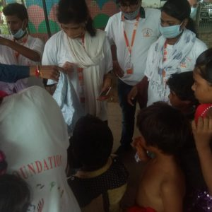 Clothes Donation Programme by Blessing Foundation in Agra (13)