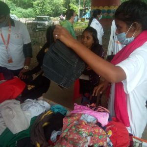 Clothes Donation Programme by Blessing Foundation in Agra (17)