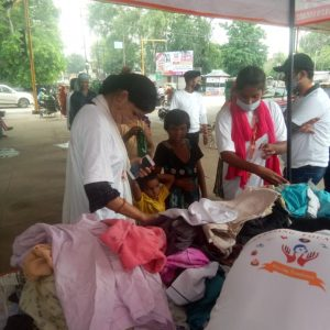 Clothes Donation Programme by Blessing Foundation in Agra (5)