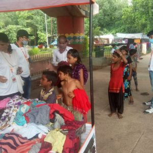 Clothes Donation Programme by Blessing Foundation in Agra (9)
