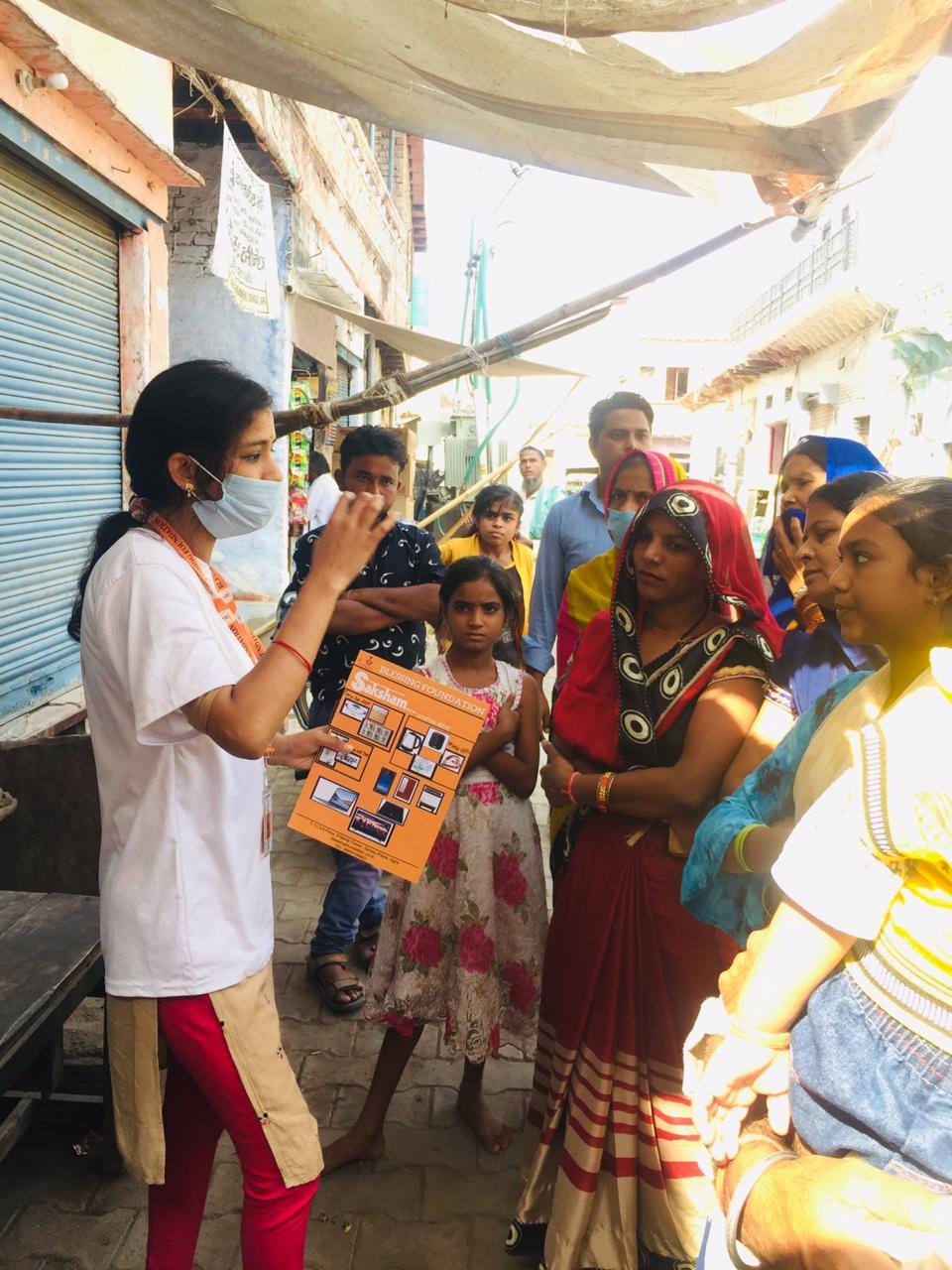 Saksham- Aatmnirbhar betiya by blessing foundation