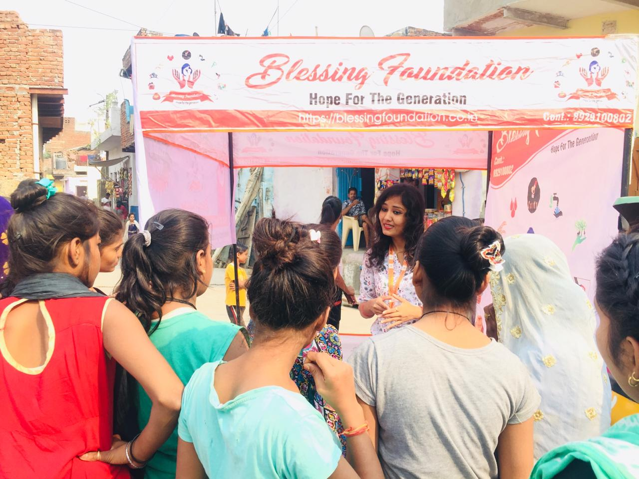 women empowerment in blessing foundation