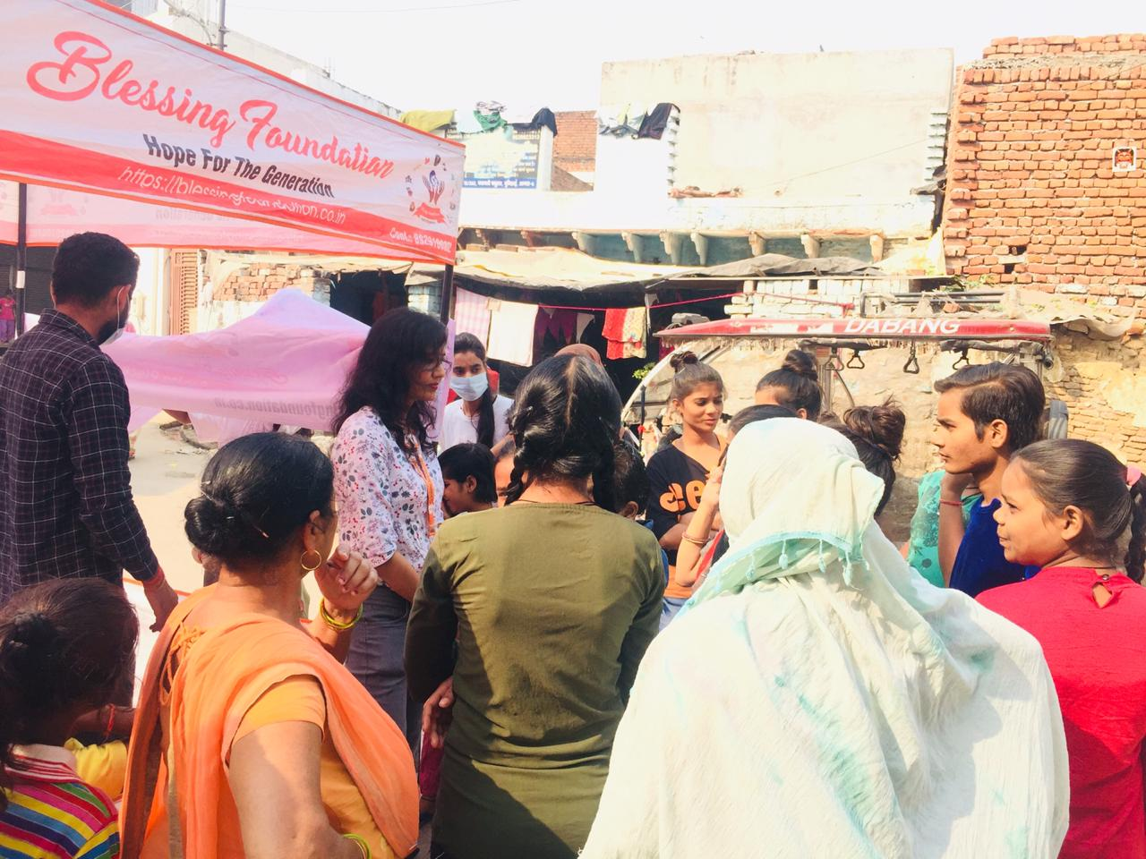 women empowerment by blessing foundation